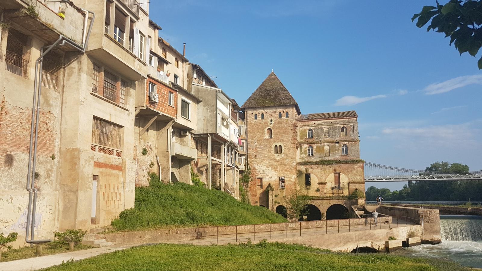 La tour de défense de Villemur (XIII ième siècle)