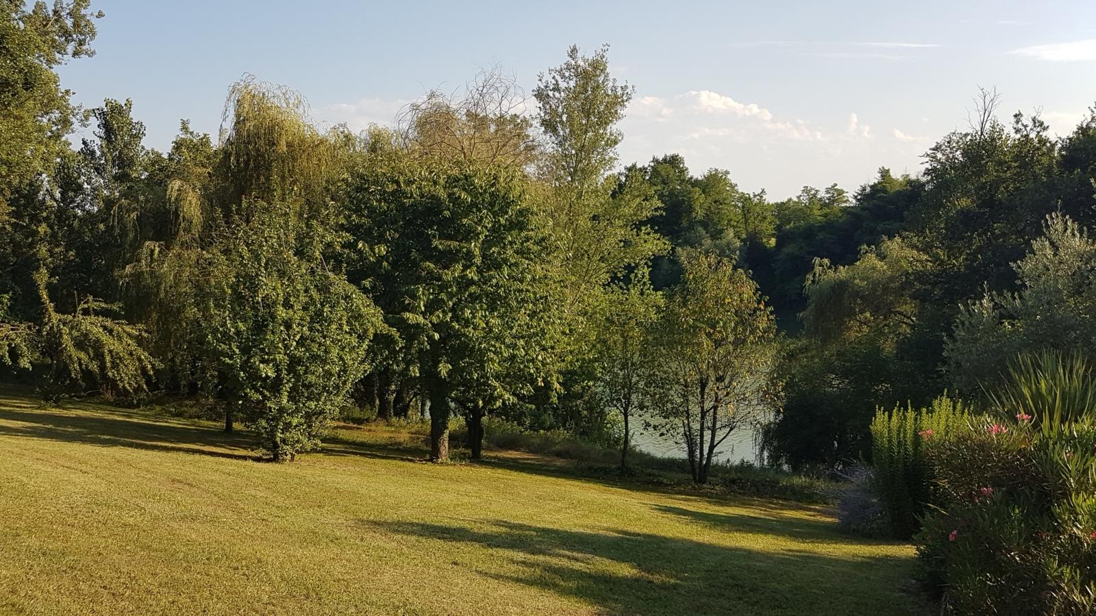 Vue sur le Tarn depuis le parc