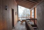 Un terrasse de bois