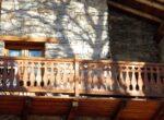 Un balcon de bois