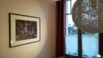 A painting, a window