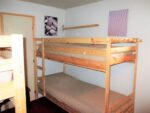 Two times two bunk beds