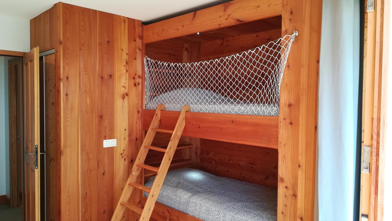 Chambre 2 avec 4 couchages