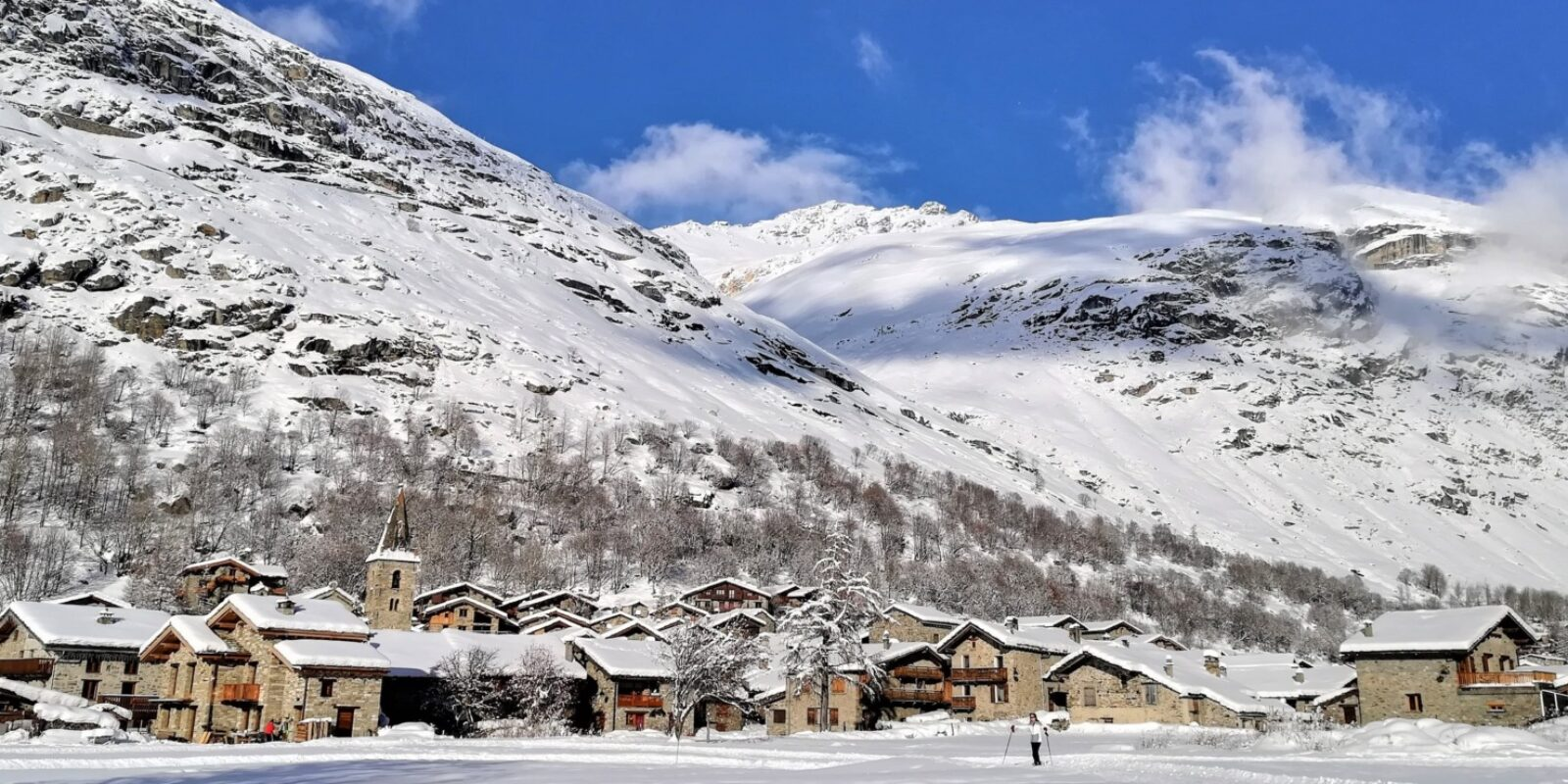 Bonneval-sur-Arc in Winter